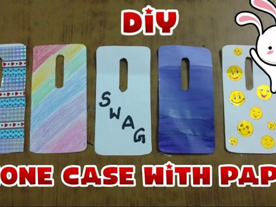 How To Make Phone Cover || DIY Phone Case With Paper