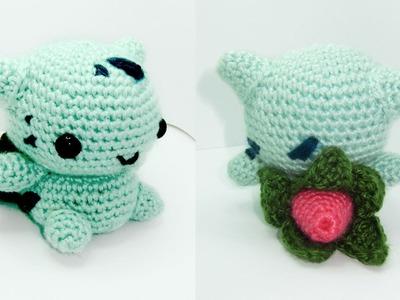 Ivysaur Amigurumi Crochet Tutorial