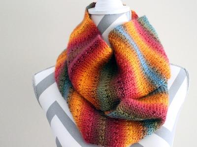 Knit-Alike Tunisian Crochet Scarf Tutorial