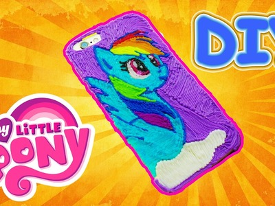 My Little Pony DIY iPhone case Rainbow Dash with 3d pen! BEST HANDMADE PRESENT EVER !!!
