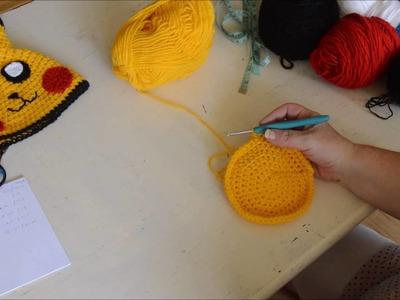 Pikachu Hat - Crochet - Tutorial - English
