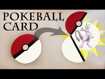 Pokemon DIY - EASY Pokeball card