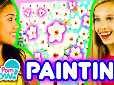 Pom Pom Wow Oil Painting Decor DIY | Official PomPom Wow