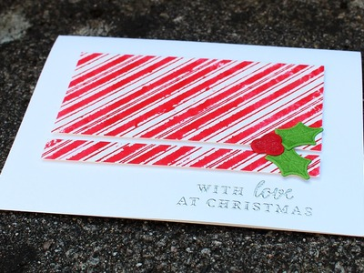 Quick & Easy DIY Watercolor Christmas Card Tutorial