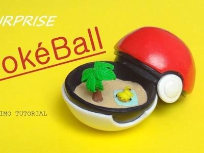 [Stop Motion] DIY Surprise PokeBall - Pokemon Go. Tutoriel Fimo