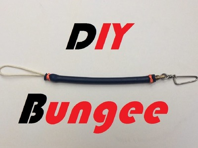 Tutorial - DIY Speargun Shock Cord - Shock absorber - Bungee