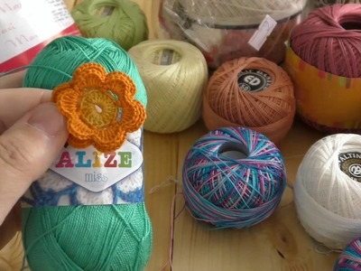 Yarn for Irish crochet lace