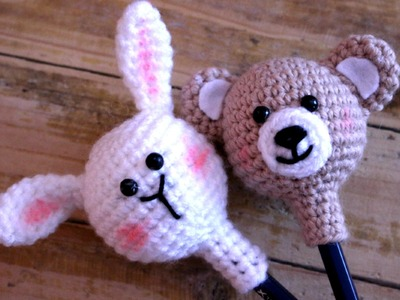 Back To School ● How to crochet a Pencil holder | World Of Amigurumi