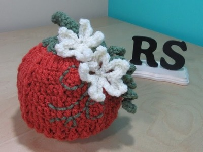 Crochet pumpkin hat for beginners