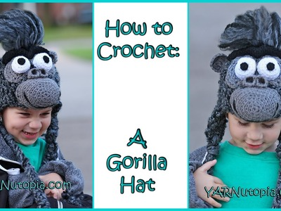 Crochet Tutorial: Gorilla Hat