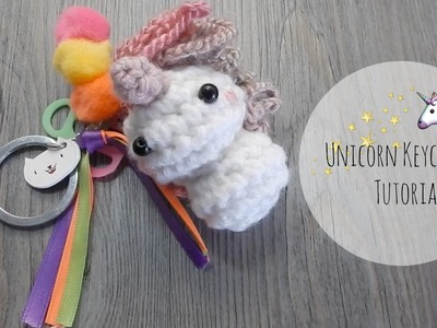 Crochet Unicorn Keychain Tutorial Amigurumi