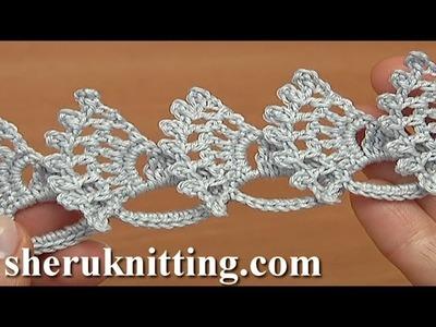 Crochet Wide Flat Double Sided  Tape Tutorial 29