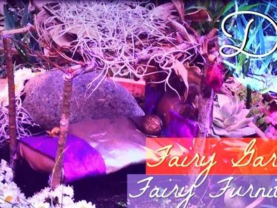 DIY. Fairy Garden and Fairy Furniture