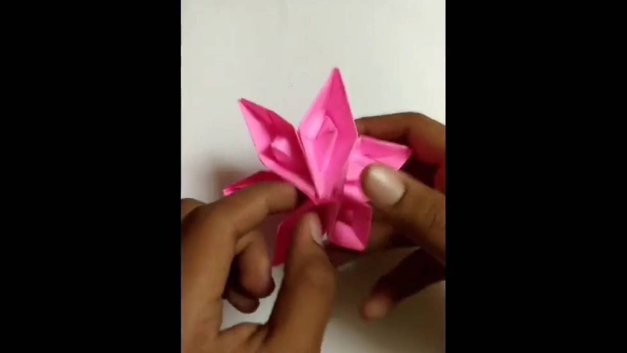 DIY- Making a flower with boat .