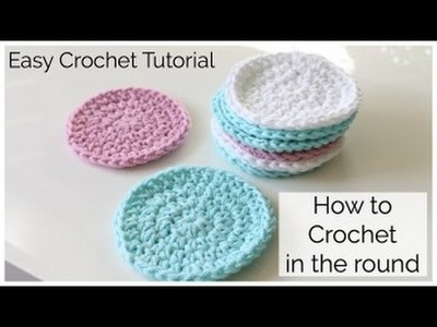 How to Crochet a Round Face Scrubbie
