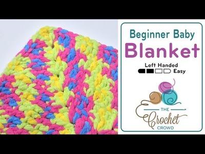 How to Crochet Beginner Baby Blanket