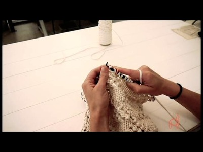 How to Knit the Echoview Market Bag