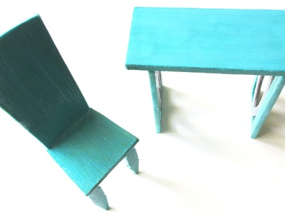 How to Make a Doll Desk & Chair