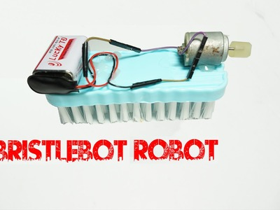 How To Make A Floor Cleaning Bristlebot - Mini Robot