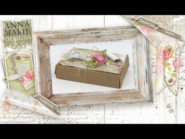 How to make a Lazy Gift Box with Anna Marie Designs