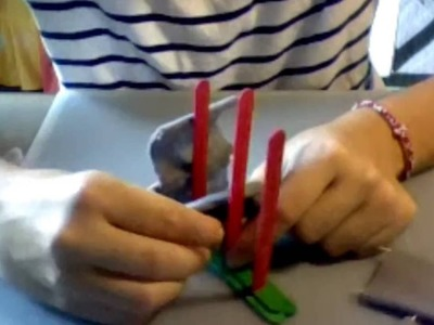 How to make a popsicle stick boat