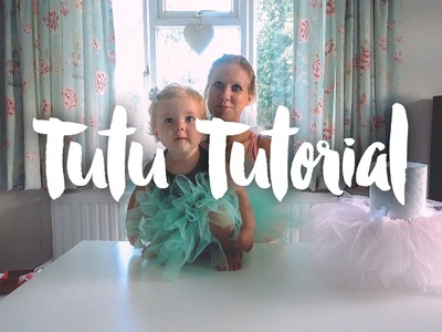 How to make a tutu that's so easy for babies, girls and adults