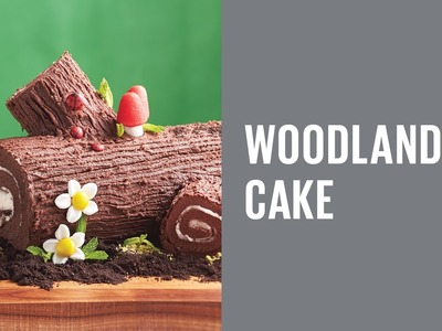 How to make a Woodland Cake