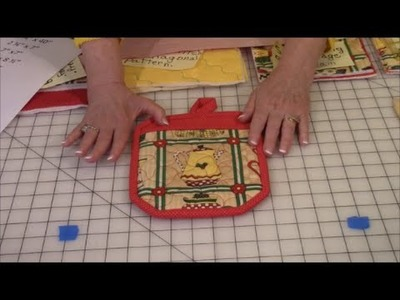 How to Make an Oven Mitt (A)