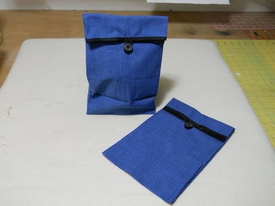 How To Sew A Fabric Lunch Sack