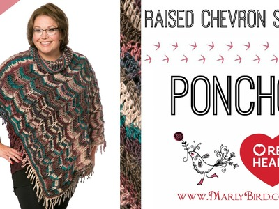Marly Bird Poncho Crochet-along Section 1
