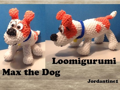 Puppy Dog Loomigurumi Amigurumi Part 1 Rainbow Loom Band Crochet Hook Only Max Secret Life Pets