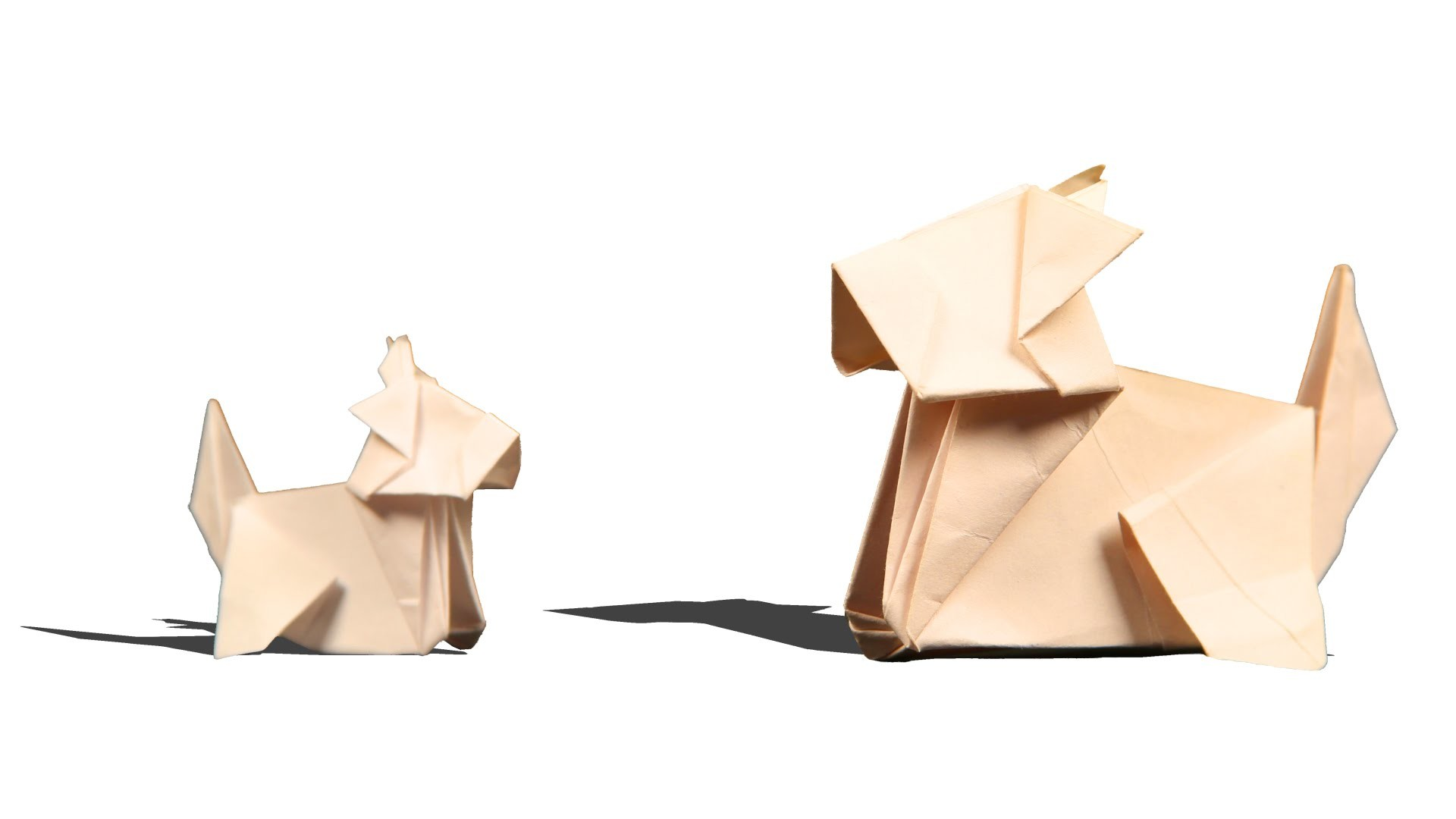 3d Origami Dog Diy Learn Origami How To Make Easy Origami Dog