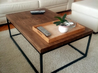 DIY - coffee table - EASY & SIMPLE