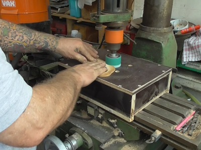 How i built a quick and easy drum sander.