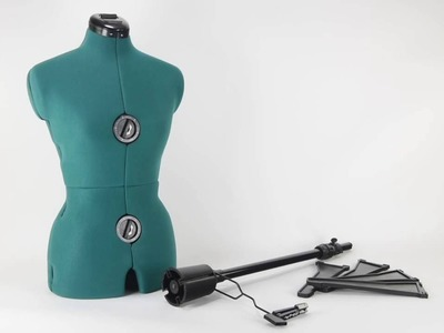 How to assemble and operate the Dritz Sew You Dressform