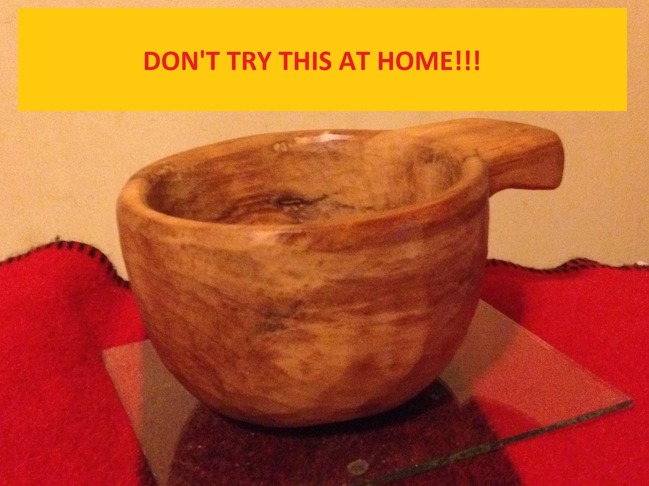 How To Implode A Kuksa! ;- ) WARNING: DON'T TRY THIS AT HOME!!!