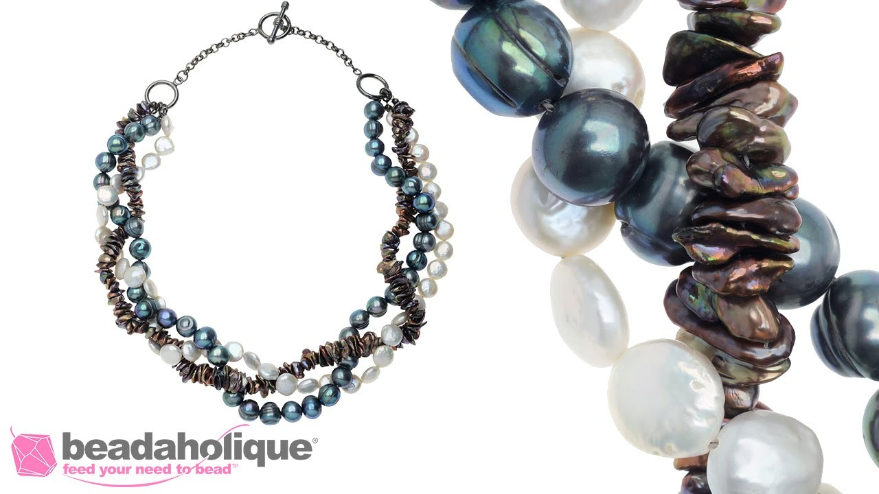 How to Make a Braided Pearl Necklace