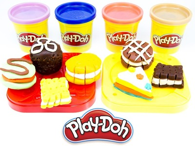 How To Make a Cake Play Doh & Birthday Cake Play Doh and Ice Cream