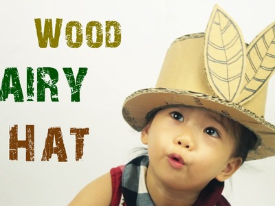 How to make a CARDBOARD HAT - Easy-to-Make - Just5mins