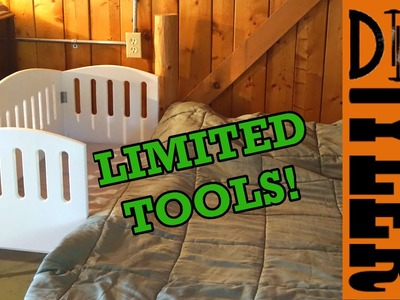 How to Make a Crib | Limited Tools Build