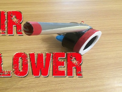 How To Make a Mini Air Blower diy project