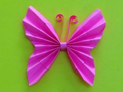 How to make a paper butterfly | Easy origami butterflies for beginners making | DIY-Paper Crafts