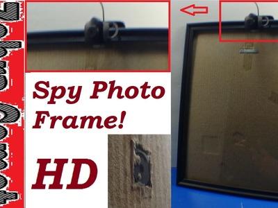 How To Make A Spy Picture Frame - Spy Gadget