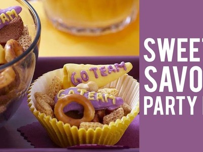 How to Make a Sweet & Savory Party Mix