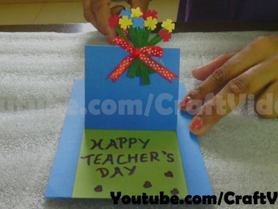 How to make a Teachers Day card