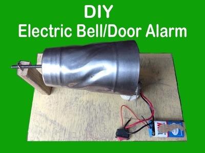 How to make an Electric Bell, Door alarm, Calling bell