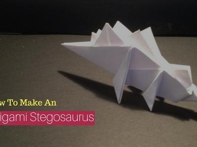 How To Make An Origami Stegosaurus!