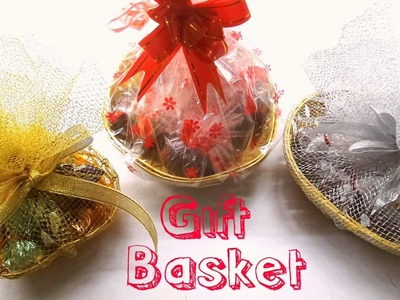 How to make Chocolate Gift Basket. DIY Gift Basket.Easy and Simple Chocolate Gift Basket at Home.