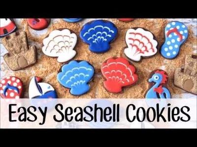 How to Make Easy Seashell Cookies