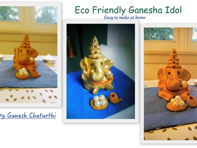 How to make eco friendly Lord Ganesha idol at home